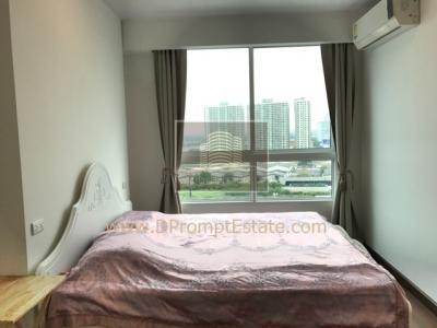 For RentCondoRama3 (Riverside),Satupadit : [Real VDO available] 1 Bed for rent, river view !!! Big room, good condition, Rama 3 !! Supalai Prima Riva Supalai Prima Riva